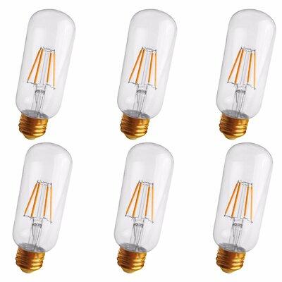 4W Medium E26 LED Vintage Filament Light Bulb