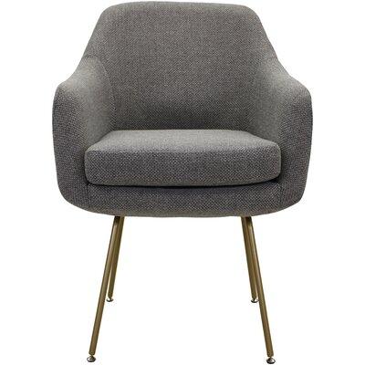 Lucinda Upholstered Dining Chair Upholstery: Light Gray