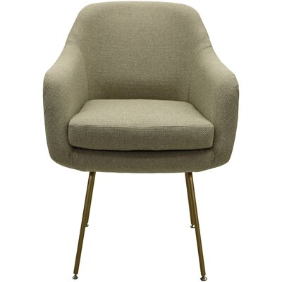 Lucinda Upholstered Dining Chair Upholstery: Beige