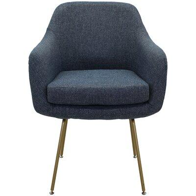 Lucinda Upholstered Dining Chair Upholstery: Marine Dark Blue
