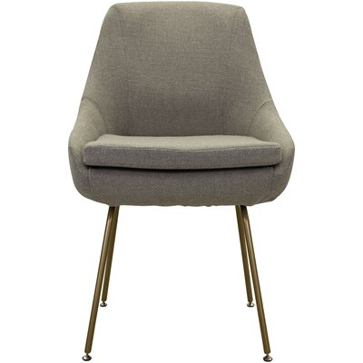 Luna Upholstered Dining Chair Upholstery: Beige