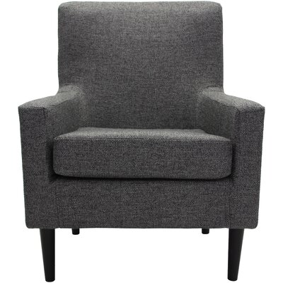Donham Lounge Chair Upholstery: Dark Gray