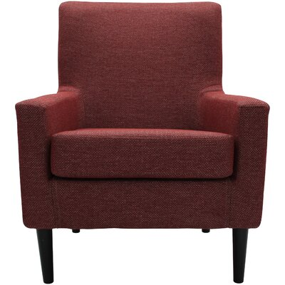 Donham Lounge Chair Upholstery: Raja Red