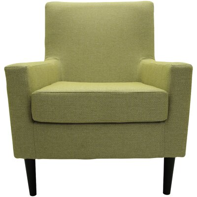 Donham Lounge Chair Upholstery: Moss Green