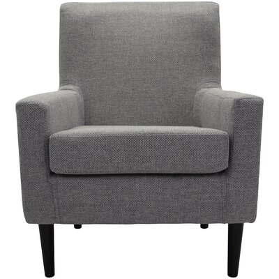 Donham Lounge Chair Upholstery: Light Gray