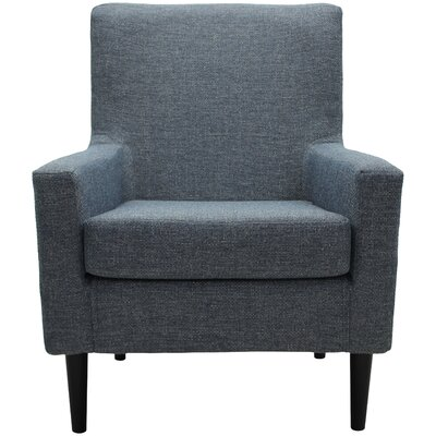 Donham Lounge Chair Upholstery: Marine Dark Blue