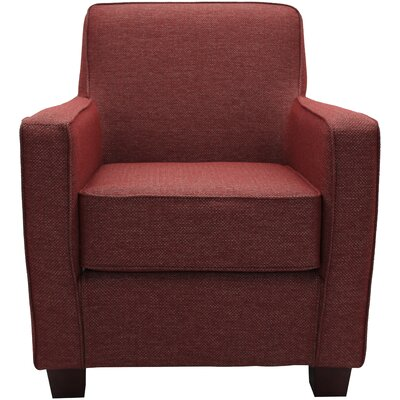 Ramsay Lounge Chair Upholstery: Raja Red