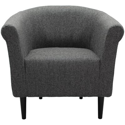 Moldenhauer Club Chair Upholstery: Dark Gray