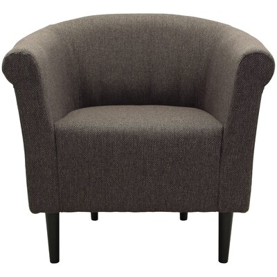 Moldenhauer Club Chair Upholstery: Brown