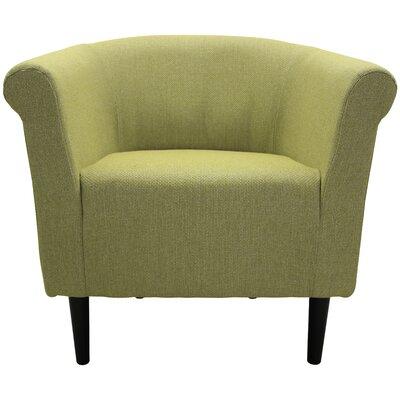 Moldenhauer Club Chair Upholstery: Moss Green