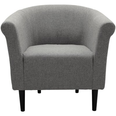 Moldenhauer Club Chair Upholstery: Light Gray