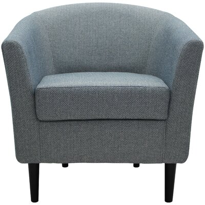 Molinari Club Chair Upholstery: Ocean Blue