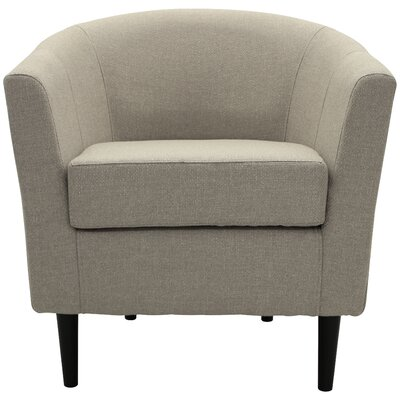 Molinari Club Chair Upholstery: Beige