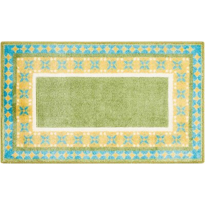 Mosser Accent D�cor Green/Yellow Area Rug
