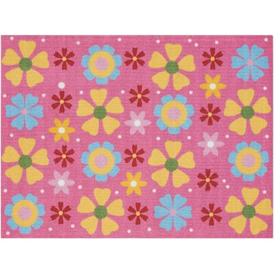 Hickmon Pink/Orange Area Rug