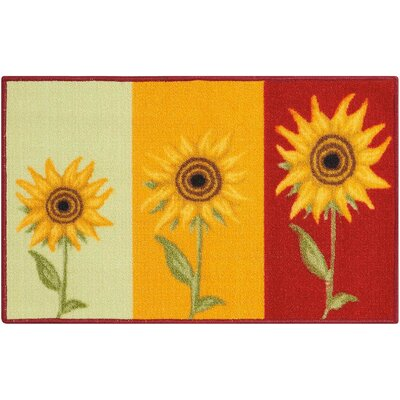 Elkins Park Green/Yellow Area Rug