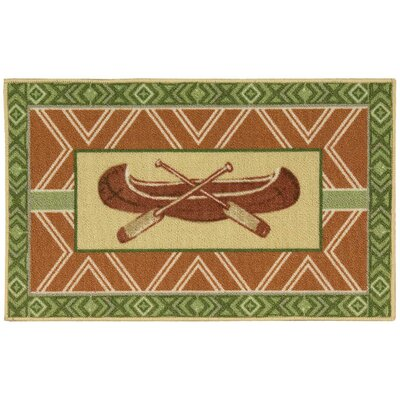 Pineda Brown/Green Area Rug