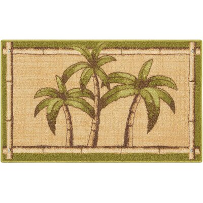 Avington Beige/Green Area Rug