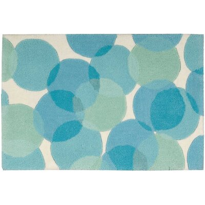 Moultry Blue Area Rug