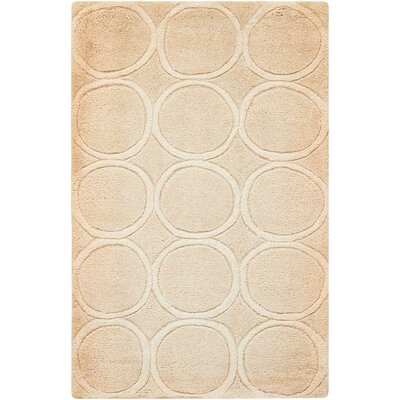 Adamczyk Beige Area Rug Rug Size: Rectangle 23 x 39