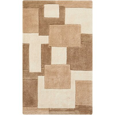 Adamczyk Brown Area Rug Rug Size: Rectangle 39 x 23