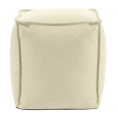 Montanez Pouf Upholstery: Palm