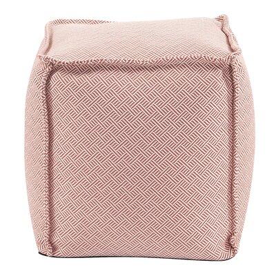Montanez Pouf Upholstery: Rhubarb