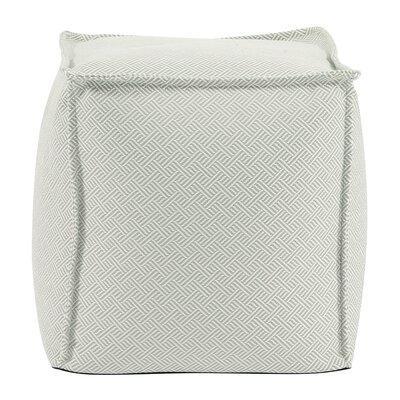 Montanez Pouf Upholstery: Celadon