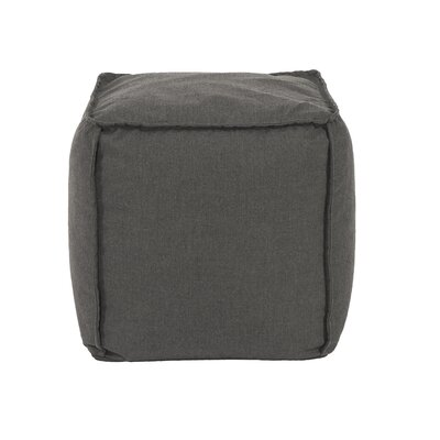 Montano Square Ottoman Upholstery: Charcoal