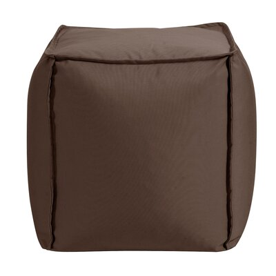 Montano Pouf Upholstery: Chocolate