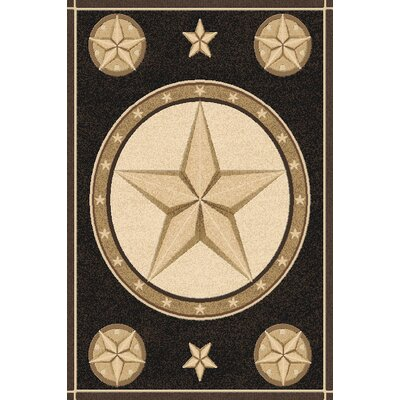 Philson Wool Black Area Rug Rug Size: Rectangle 53 x 72