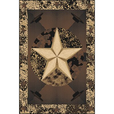 Piccolo Wool Black Area Rug Rug Size: Rectangle 7'11