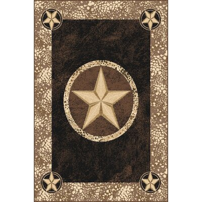 Pickney Wool Black Area Rug Rug Size: Rectangle 53 x 72