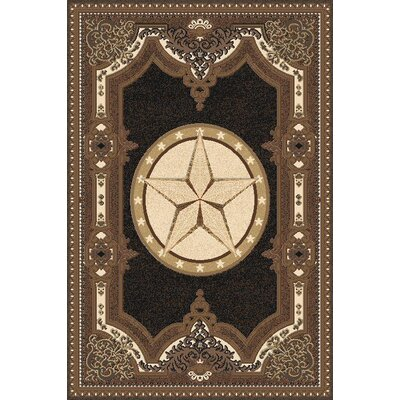 Makowski Wool Black Area Rug Rug Size: Rectangle 53 x 72