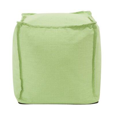 Montanez Pouf Upholstery: Slub Grass