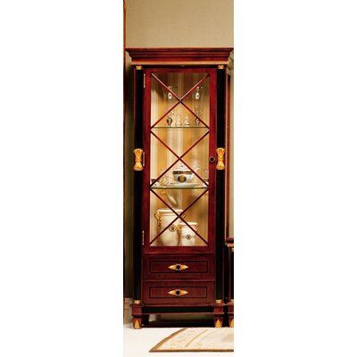 Pursel One Door Display Curio Cabinet
