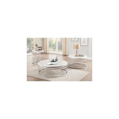 Minerva Round 2 Piece Coffee Table Set