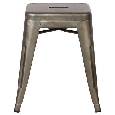 Alyssa 18 Bar Stool Color: Bronze