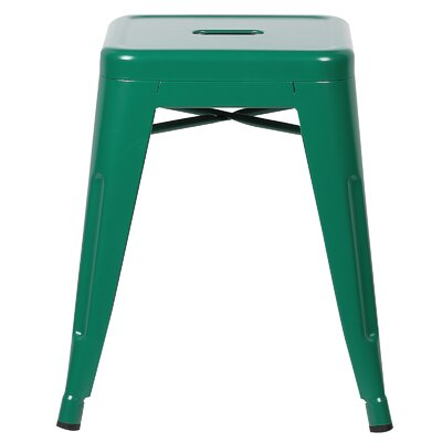 Alyssa 18 Bar Stool Color: Dark Green