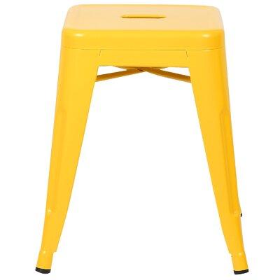 Alyssa 18 Bar Stool Color: Yellow