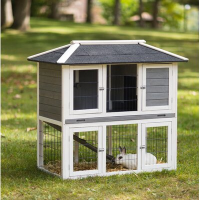 Duplex Rabbit Hutch