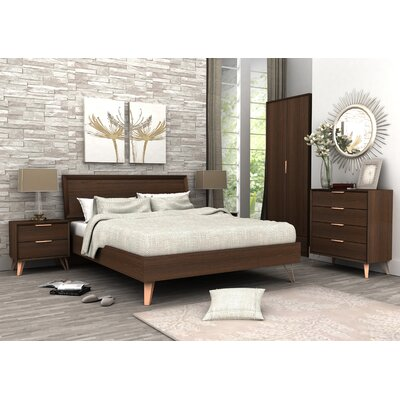 Lininger Queen Panel Configurable Bedroom Set