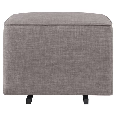 Gliding Ottoman Upholstery: Gray Tweed