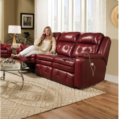Absecon Reclining Sofa Reclining Type: Power Headrest/iRecline