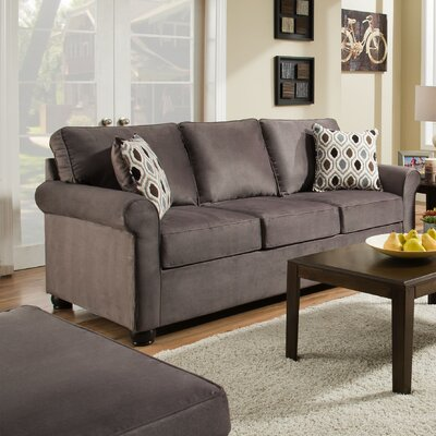 Rausch Modern Sofa by Simmons Upholstery Upholstery: Smoke