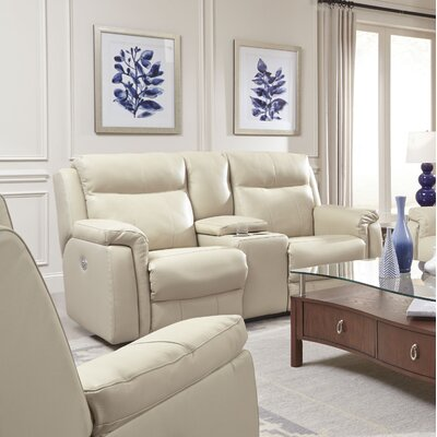 Uptown Reclining Loveseat Reclining Type: Power