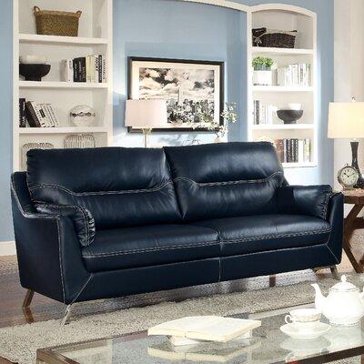 Juhasz Sofa Upholstery: Dark Blue