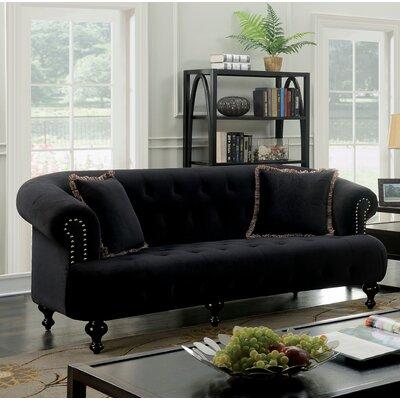 Elle Sofa Upholstery: Black