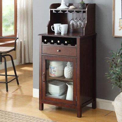 Dishon Bar Cabinet Color: Walnut