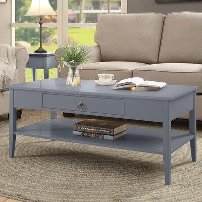 Clair Coffee Table Color: Gray